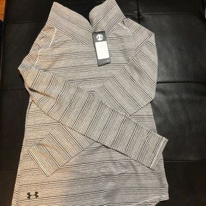 NWT Under Armour striped long sleeve